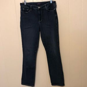 NYDJ NOT YOUR DAUGHTERS Jeans Skinny Dark Wash 14